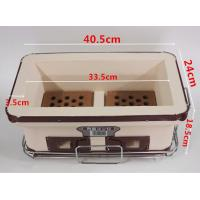 China Household Hibachi Ceramic BBQ Grill Porcelain Enameled Outdoor Use SGS on sale