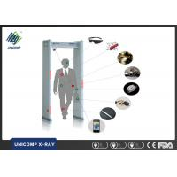 Quality 6 Zones Walk Through Security Metal Detectors , Metal Detector Walk Through Gate UNX200A wholesale