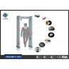 Buy cheap 6 Zones Walk Through Security Metal Detectors , Metal Detector Walk Through Gate UNX200A from wholesalers