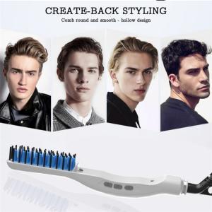 China 2019 NEW Multi Function Hair Iron Men Quick Beard Straightener Styler Comb Styler beard straightener for men and women on sale