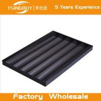 China Factory high quality bread baking aluminum sheet-non stick baking tray-non-stick french baguettes baking tray on sale