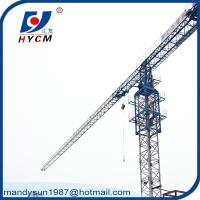 Quality 5 ton QTP50(5010) Brand New Topless Tower Crane with Wire Rope and A.C. wholesale
