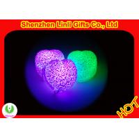 Quality HOT!!! pvc body led heart gift best valentines day gifts 6*7*4.5cm wholesale