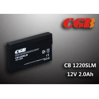 Quality 12V 1.8Ah CB1220SLM  Non - Spillable charging lead acid batteries Maintenance Free wholesale