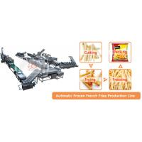 China Best Price French Fries Making Machine Fried Potato Chips Production Line on sale