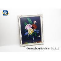 Cheap PET / PP 3D Lenticular Pictures Printing Beauiful Flower Pattern For Home for sale