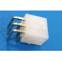 Quality Conn 6pos Header Connector With Plastic Post Dual Row Gold Plated wholesale
