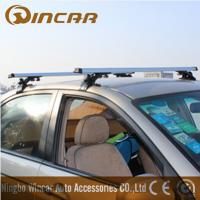 Quality 3 In 1 Removable Car Roof Racks , Aluminum roof cross bar for MAZDA MITSUBISHI TOYOTA wholesale