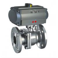 China 3PC Stainless Steel Ball Valves Pneumatic Ball Valve Pneumatic Ball Valve on sale