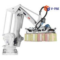 China Fast Speed Robotic Case Packer , Durable Automated Robot Packing Machine on sale