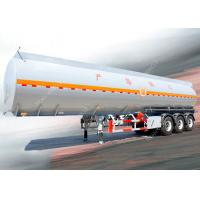 Quality 3 Axles 45000 liters 5 compartments diesel fuel tank trailer for oil transportation wholesale
