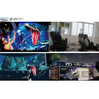 Quality 6 / 12 / 18 / 36 Persons 6D Movie Theater With Visual Impact, Special Effect System wholesale