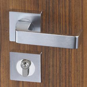 Quality Easy Installation Mortise Door Lock Zinc Alloy Handle For 38 - 55mm Door wholesale