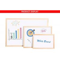 Quality Wood Framed Magnetic Dry Erase Board With Marker Pen Fashionable Style wholesale