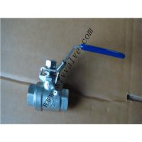 Cheap 2pc ball valve with locking device for sale