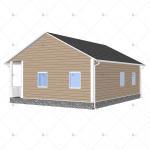 China Heya-2B10-B China 2 room sandwich panel house materials cheap home in Kenya for sale