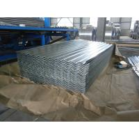 Quality 0.15-1.5mm Thickness Galvanized Corrugated Roofing Sheet , ASTM A653 wholesale