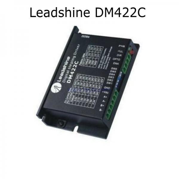 Cheap 6pcs leadshine dm422c stepper driver work 24 40vdc for 2a stepper motor driver