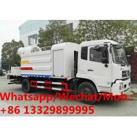 Quality Customized dongfeng tianjin 180hp diesel 80m water tanker truck with spraying mist cannon for sale, water spraying truck wholesale