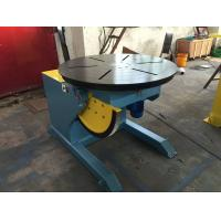 Quality Motorized Rotating / Tilting Rotary Welding Turning Table For 2 Ton Rated Load Cap wholesale