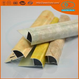 China Aluminum wardrobe extrusion, aluminum section, wadrobe profile on sale