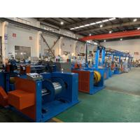 Quality Automobile Wire Rewinding Machine 600M / Min Motor Control Cable Extrusion Line wholesale