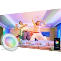 Quality Indoor Smart Ceiling Led Panel Lighting RGB 18W Decorative With Bluetooth Wifi APP wholesale