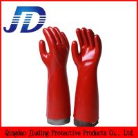 Quality China wholesale security work long sleeve oil resistant gloves wholesale