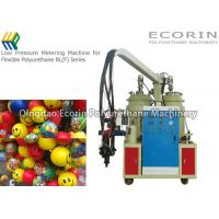16.6 Gs / Min Polyurethane Mix And Pour Foam Machine For Backrest Mixing Head
