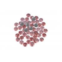 Quality Strong Glue Crystal Hotfix Rhinestones , Sparkles Rhinestones 12 / 14 Facets wholesale