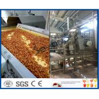 China Fruit Processing Plant Juice Making Machine Orange Juice Extractor With Washing / Pulping System on sale