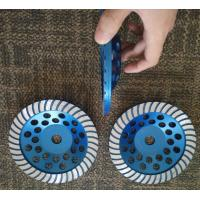 """Quality 7"""" Turbo Cup Wheel Diamond Grinding Disc For Concrete and Stone Grinding wholesale"""