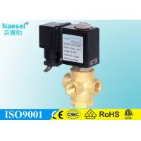 China Flow Direction Control 3 Way Solenoid Valve Normal Closed For Steam Sterilizer on sale