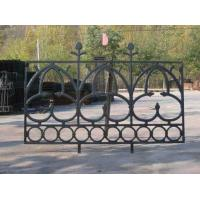 Quality Portland Cast Iron Fence Panels Powder Coated Steel Prefab Metal Fence Panels wholesale