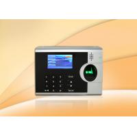 China Employee Fingerprint Time Clocks For Small Business , 3 Inch TFT Color Screen on sale
