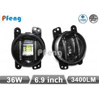 China 1 pair 4 15W  Automotive Led Work Lights , Replacement LED Round Fog Light 1000 Lumen on sale