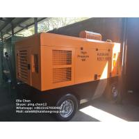 Quality Portable Diesel Engine Driven Screw Air Compressor 550CFM 13 Bar 188Psi Trailer Type wholesale