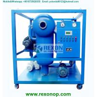 Quality Weather Proof Type Strong Vacuum Dehydrating Electric Insulating Oil Purifier wholesale