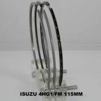 China Teflon 4HG1 Diesel Engine Piston Ring Set 4 Cylinder For Isuzu Spare Parts on sale
