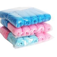 China Blue Disposable Non Woven Shoe Cover  Bacteria Resistant Customized Color on sale