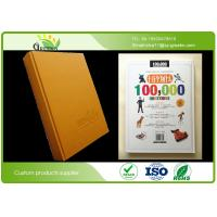 Quality Hardcover Journals Notebooks A4 with Flexographic Printing / Offset Printing wholesale