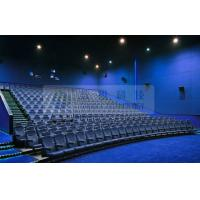Quality Removable 3D theater seating system for 6 / 12 / 50 Persons , Attractive 4D 5D motion movies wholesale