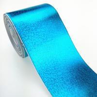 China Custom bigh size cheap facotry 3 inch metallic color grosgrain ribbon full pure gold on sale