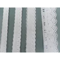 China Eco-Friendly Cotton Lace Fabric Trimming For garment / Curtain on sale