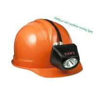 Quality Underground coal cree cordless mining lights with digital display screen wholesale