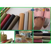 Quality Eco Friendly Muti Color Kraft Liner Paper 150cm - 0.55mm Washable For DIY Crafts wholesale