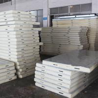 Cheap HeCheng Insulation PU Sandwich Panel for Structure House for sale