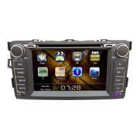 China 2 Din 7 Inch Vehicle DVD Players GPS Navigation For Toyota Corolla on sale