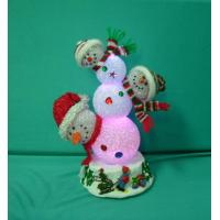 Quality Unique Xmas Snowmen Combo Colorful Lamp for Personalised Christmas Gifts wholesale