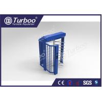 Quality Indoor / Outdoor Full Height Turnstile Access Control System With Multi Mode wholesale